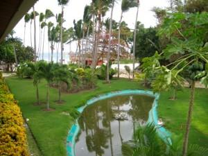 3. widok z pokojowego balkonu hotelu natura park beach eco resort