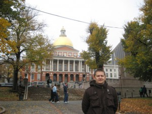 freedom trail 1. the state house