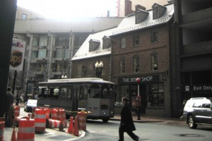 freedom trail boston 13. site of the old corner bookstore
