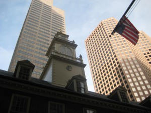 freedom trail boston 17. powyej old state house