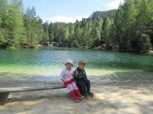 Jezioro Adrspachskie skaly