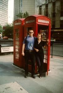 londyn 2000 jeszcze z budkami