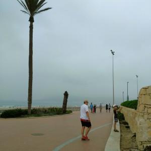 Promenada nadmorska w Agadirze