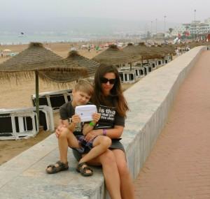 5cPromenada nadmorska w Agadirze