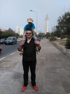 Ulice Agadiru W drodze do meczetu