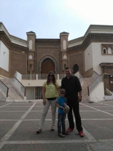 Ulice Agadiru Przed meczetem