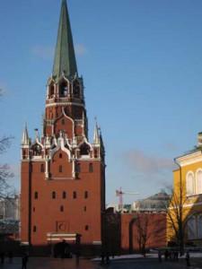 Jedna z wiez kremlowskich