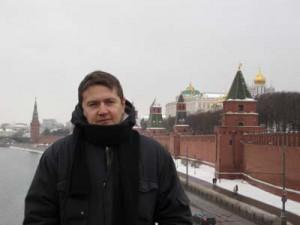 widok na mury Kremla