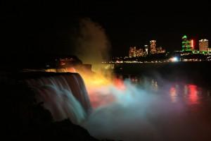 01 widok noc wodospadw po stronie amerykaskiej