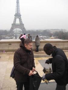 Na Placu Trocadero