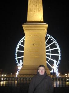 Plac Concorde noca