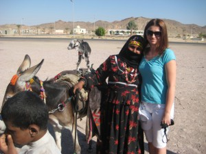 z beduink w gorach morza czerwonego