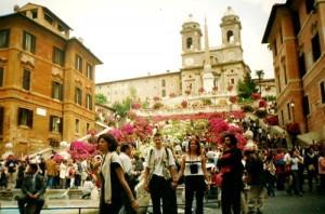 12 Rzym - Schody Hiszpanskie