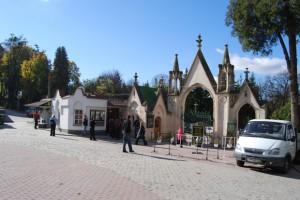 4. cmentarz lyczakowski 1 - przed wejsciem