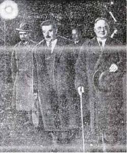 Francuski premier Edouard Herriot w towarzystwie Maksima Litwinowa-1