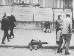 Zmarly na ulicach Charkowa