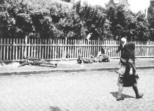 zmarli na ulicach Charkowa